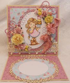 ScrapbookFashionista Designs by Rina: A Magnolia Tilda Card Just for Fun