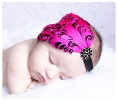 Baby Girls HeadbandsBaby HeadbandsNewborn by LittleBitsChic, $18.00