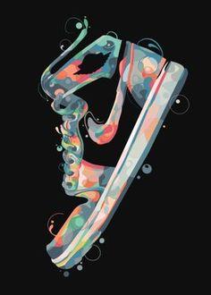 Jordan Shoes Wallpaper, Sneakers Wallpaper, Nike Wallpaper, Cute Wallpaper Backgrounds, Disney Pop Art, Sneaker Posters, Shoe Poster, Graphic Design Lessons, Skateboard Design