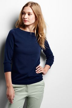Women's Supima® Crew Neck