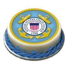 US COAST GUARD Edible Cake Image Party Decor Custom | eBay
