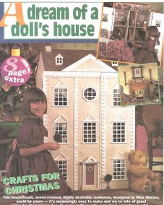 Free Pattern for a dream doll house.