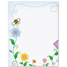 Bumble Bee Letter Paper