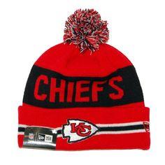 5d69dd33841 Amazon.com  NFL Kansas City Chiefs The Coach Knit Hat  Sports  amp