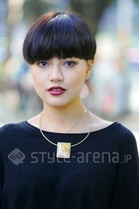 Kazumi - Short Hair Cut - TOKYO STREET STYLE | style-arena.jp
