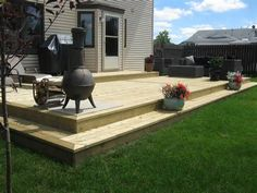 Wood deck installations that give you the backyard of your dreams.
