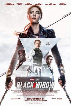 Black Widow Film, Black Widow Scarlett, Black Widow Natasha, Avengers Girl, Black Widow Avengers, Black Panther Marvel, Marvel Movie Posters, Avengers Movies, Marvel Movies