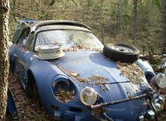 Renault Alpine An Unfortunate Collection of Abandoned Race Cars — 95 Customs