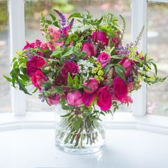 For any one who loves and English garden and a splash of colour in their home! The scent from this bouquet is simply divine!!