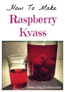 Raspberry Kvass is a delicious fermented beverage that is healthy and delicious! Raw Food Recipes, Healthy Recipes, Jar Recipes, Freezer Recipes, Freezer Cooking, Side Recipes, Drink Recipes, Healthy Foods, Probiotic Drinks