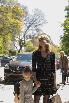 Aside from an unbeatable soundtrack, here's one more thing the Big Little Lies HBO series had that the book didn't: a very talented costume designer, Alix Hbo Series, Series Movies, Movies And Tv Shows, James Tupper, Mystery Tv Shows, Liane Moriarty, Secrets And Lies, Big Little Lies, Video Film