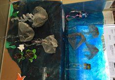 jellyfish pool - Plastic Free July art installation displayed at Manly Sea-Life