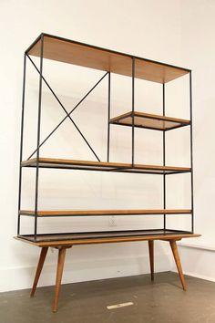 Rare Paul McCobb Room Divider Eames Knoll Herman by citymodern5