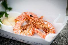 Stein's Fish & Chips - Restaurant & Takeaway in Padstow, Cornwall Rick Stein Restaurant, Fish And Chips Restaurant, Shellfish Recipes, Seafood Recipes, Best Fish And Chips, Fish And Chip Shop, Prawn Shrimp, Pubs And Restaurants, Food Truck