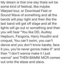 I would bawl