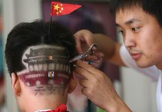 Chinese barber swag.