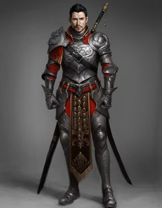 m Fighter Plate Armor Greatsword Longsword urban City undercity underdark farmland river Human Fighter Knight - Pathfinder PFRPG DND D&D Fantasy Grounds lg Fantasy Male, Fantasy Armor, Medieval Fantasy, Dungeons And Dragons Characters, D D Characters, Fantasy Characters, Fantasy Character Design, Character Concept, Character Art