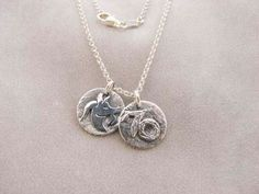 Sterling Silver Capricorn Zodiac Sign Necklace.