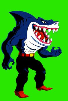 Street Sharks: Ripster. Image from the Official Shark Streets website through the Internet Archive.
