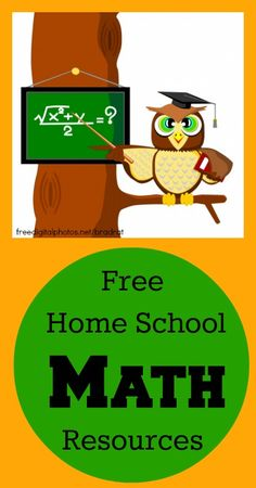 Free Home School Math Resources {Frugal Living, Frugal Parenting, Frugal Homeschooling} home schooling ideas 56 FREE Homeschool Math Resources School Resources, Math Resources, Kindergarten, Science Student, Homeschool Curriculum, Homeschooling Statistics, Catholic Homeschooling, Home Learning, Learning Activities