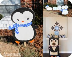 Giggles Galore: Penguins & Polar Bears Winter ONEderland {Birthday Party}