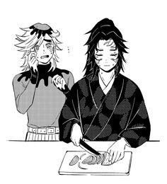 Kimetsu No Yaiba Anime Chibi, Manga Anime, Anime Art, Slayer Meme, Demon Hunter, Dragon Slayer, My Hero Academia Manga, Anime Demon, Anime Guys