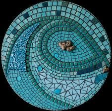 Image detail for -Portfolio :: Ali Mirsky Custom Mosaic Designs Mosaic Pots, Blue Mosaic, Mosaic Diy, Mosaic Crafts, Mosaic Projects, Mosaic Wall, Mosaic Glass, Mosaic Tiles, Stained Glass