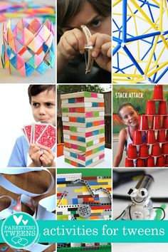23 Great Activities for Tweens: Looking for inspiration to engage your tween? We've got 23 fun ideas for boys and girls.