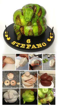http://cakecentral.com/a/snake-cake-tutorial