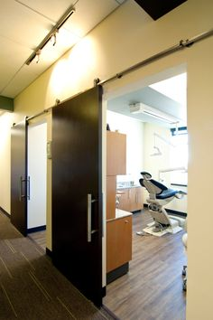 VFLA, architecture, dental, medical, reception, exam rooms, laboratory, modern, interior design, Windsor, CO