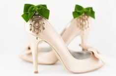 Zelda's Favorit Vintage Wedding Shoe clips $60.47