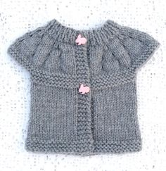 Knit Baby Sweater / Baby / Ready to ship by LaraineRoseHandiWorx
