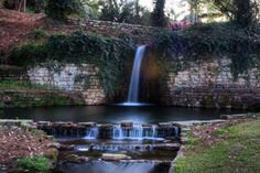 hodges gardens state park louisiana | Waterfall at Hodges Gardens