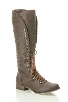 Brown boots :)
