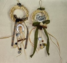 Oνειροποιείο: ΓΟΥΡΙΑ Christmas Gifts, Christmas Decorations, Lucky Charm, Xmas Crafts, Charmed, Drop Earrings, Jewelry, Sandals, Xmas Gifts