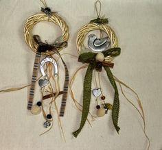 Oνειροποιείο: ΓΟΥΡΙΑ Christmas Gifts, Christmas Decorations, Lucky Charm, Drop Earrings, Xmas Crafts, Diy, Fashion, Build Your Own, Moda