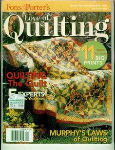 Love_of_quilting_march-april_2005 - compartilha tudo - Picasa Albums Web