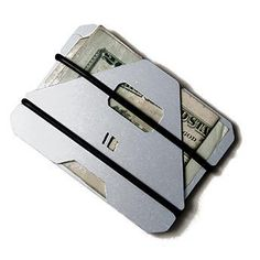 Obstructures  shop  A3 aluminum wallet, $42, choice of materials for each plate