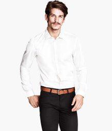 H Slim-fit shirt
