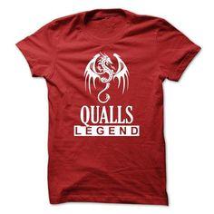 Dragon QUALLS Legend T Shirts, Hoodies. Check Price ==► https://www.sunfrog.com/Names/Dragon--QUALLS-Legend-TM003.html?41382
