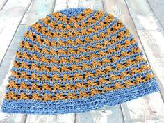 Free crochet pattern: Speckled Beanie Hat by Kim Guzman