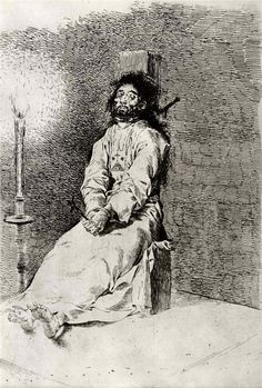 STIFFENED - FRANCISCO DE GOYA