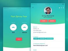 Share Contacts by Chase Uvodich