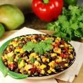 Linked to: www.thekitchenismyplayground.com/2013/04/roasted-corn-black-bean-mango-salsa-my.html