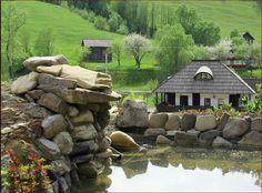 4 Adobe House, Traditional House, Romania, Homesteading, Country, House Styles, Interior, Hobbit Houses, Design