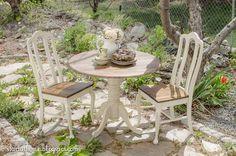 Refinished Pedestal Table | Hometalk