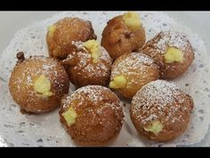 Sweet Cakes, Pretzel Bites, Crepes, Doughnut, Deserts, Muffin, Food And Drink, Bread, Youtube