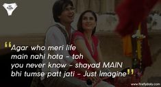 These dialogues complete the movie Take Me Back Quotes, Tired Quotes, Our Daily, Text Quotes, Movie Quotes, Meet, Diaries, Bollywood, Movies