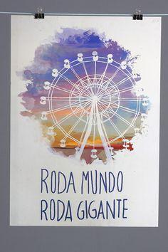 Poster Roda Viva