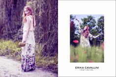 ERIKA CAVALLINI Semi-Couture ss2014  Il profumo della primavera, i colori dei fiori, il sapore retrò e la delicatezza dei tessuti e il fruscio degli abiti che si muovono sinuosi… tutti e 5 i sensi nella nuova collezione di  semi-couture.  #fashion #moda #shopping #ss2014 #woman #style #madeitaly #couture